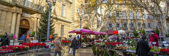 Arpentez les ruelles d'Aix en Provence